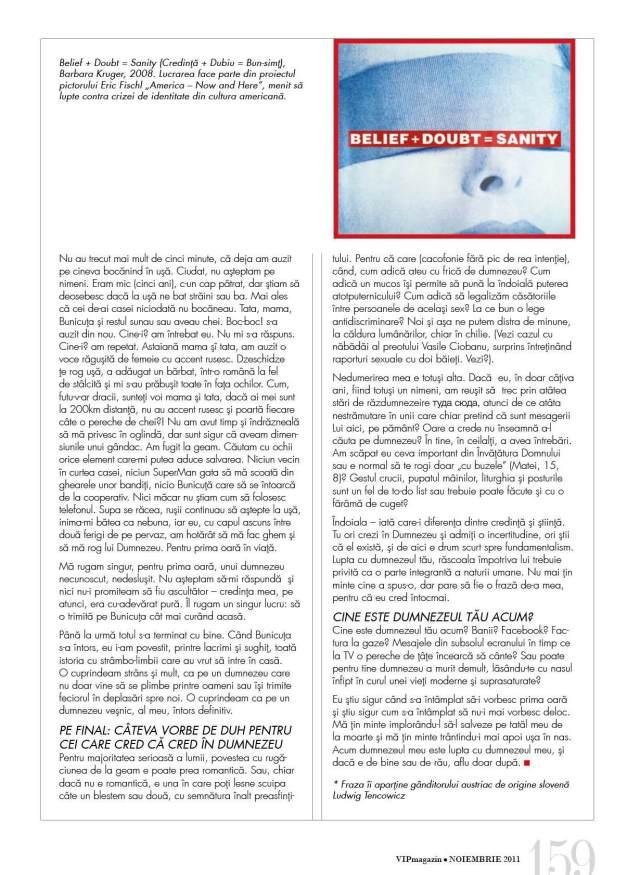 Articol Bolocan Noiembrie 2